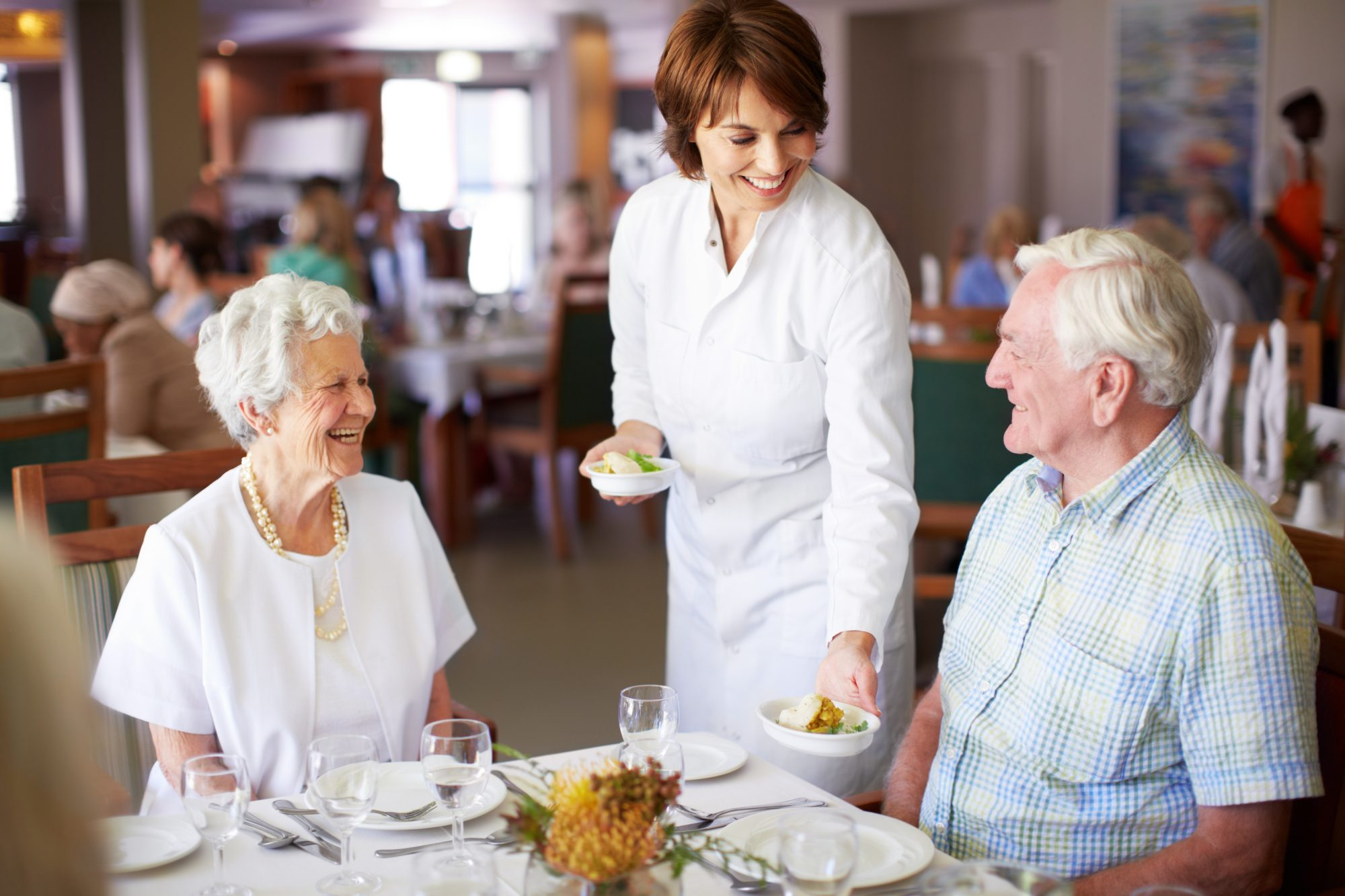 Aged care dining and hospitality services